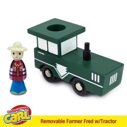 Brybelly Holdings TCON-104 Farmer Fred Tractor with Removable Character