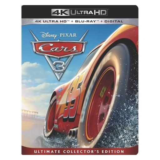 Cars 3 (blu-ray/4k-uhd/digital hd) ETLWJY7EBP8ADBNU