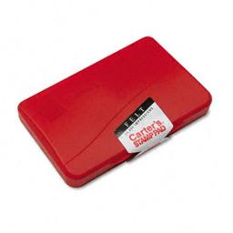 Carter's 21071 Felt Stamp Pad- 4.25w x 2.75d- Red