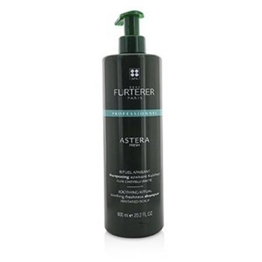 Rene Furterer 221823 600 ml & 20.2 oz Astera Fresh Soothing Ritual Soothing Freshness Shampoo for Use of Irritated Scalp