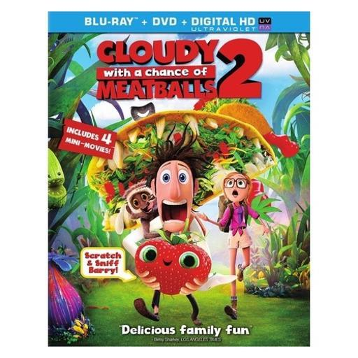 Cloudy with a chance of meatballs 2 (blu-ray/dvd combo/ultraviolet) AHI8Z9SZWGYOJZ7F