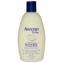 Aveeno K-HC-1008 Baby Soothing Relief Creamy Wash by Aveeno for Kids - 8 oz Body Wash