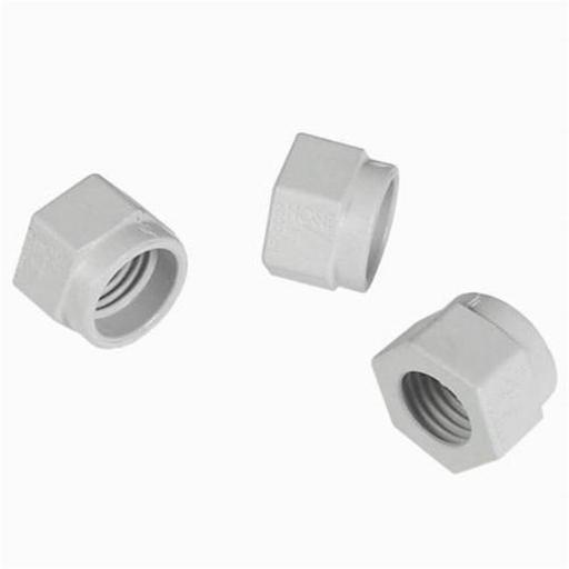 Hayward Pool Products TVX6000MNPK3 Mender Nut Kit for Tri Vac 500 & 700 Automatic Pool Cleaner, White - Set of 3