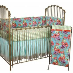 Cotton Tale LG4S Lagoon Collection Crib Bedding Set, 4 Piece