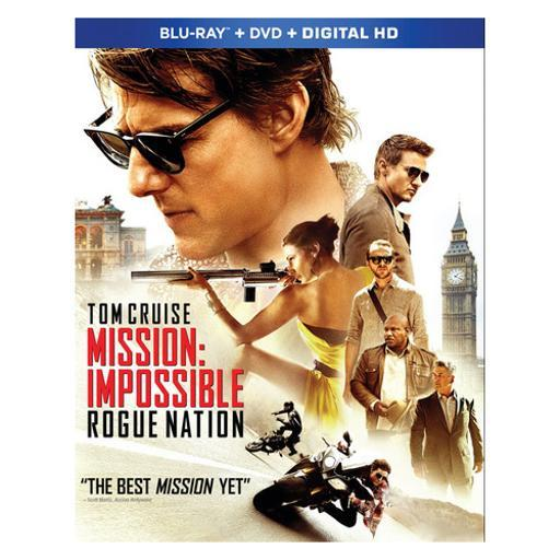 Mission impossible-rogue nation (blu ray/dvd w/digital hd)