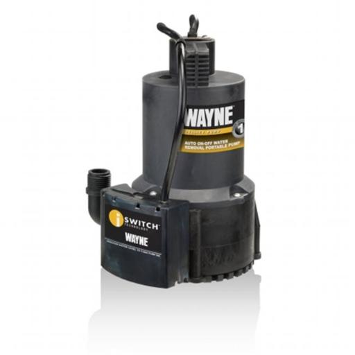 Wayne Water Systems EEAUP250 0.25 HP Automatic On & Off Electric Water Removal Pump