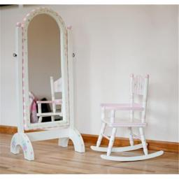 Teamson W-3847F Girls Rocking Chair - Bouquet Room Collection