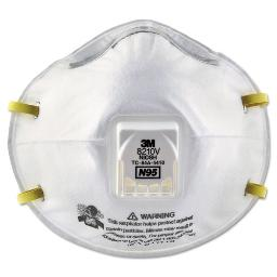 Particulate Respirator 8210V N95 Cool Flow Valve 10 Per Box   1 Box of: 10