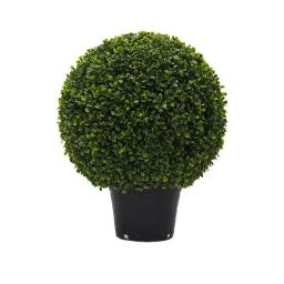 Vickerman TP171320 UV Boxwood Ball Everyday Topiary in Pot - 20 in.