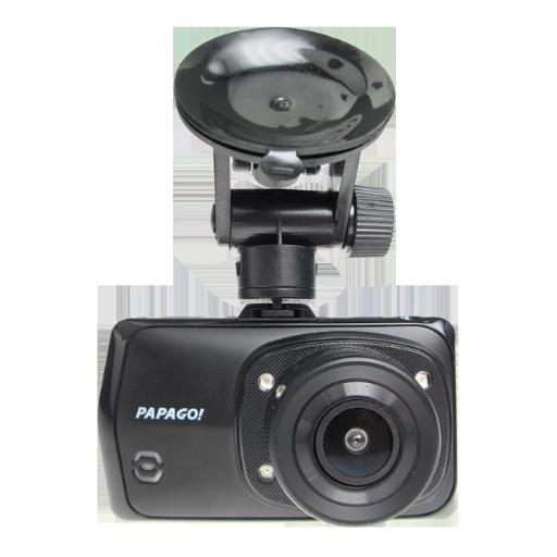Papago GSS2308GBB 1080P Full HD Dash Camera with 3 in. Screen