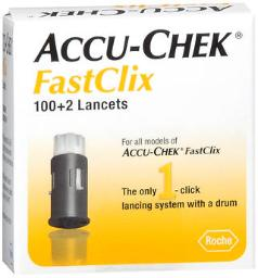 Accu-chek Fastclix Lancets - 102 Ct, Pack Of 4