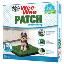 Four paws 100203053 four paws wee-wee patch indoor potty small 20 x 20 x 1