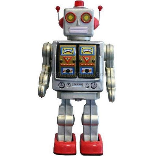 Alexander Taron ME100 Collectible Tin Toy - Battery-operated Robot 737340AFCF7C2AF9