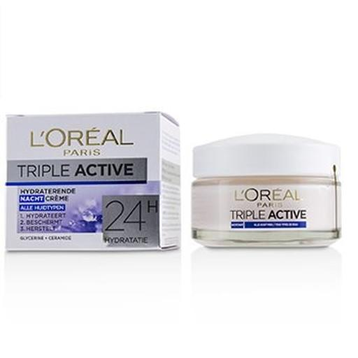 L'oreal Triple Active Hydrating Night Cream 24H Hydration