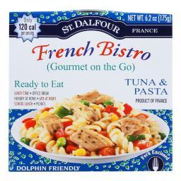 St Dalfour Gourmet on the Go - Ready to Eat - Tuna and Pasta - 6.2 oz - Case of 6