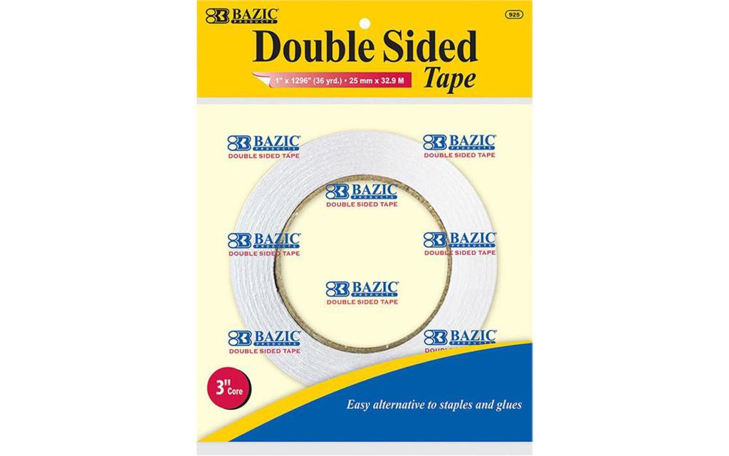 925 bazic double sided tape 1x1296