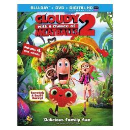 Cloudy with a chance of meatballs 2 (blu-ray/dvd combo/ultraviolet) BR42507