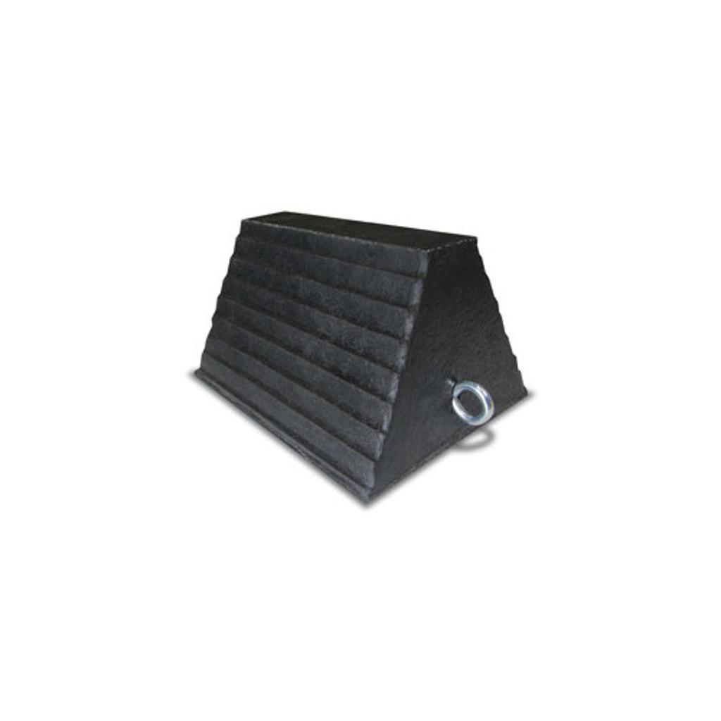 Aeropro apwc wheel chock block with eye bolt