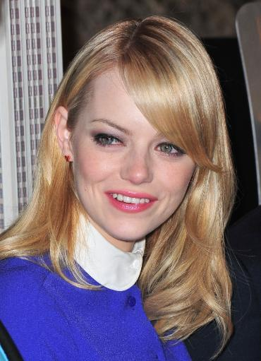 Emma Stone In Attendance For The Amazing Spider-Man Cast Light Empire State Building, The Empire State Building, New York, Ny June 25, 2012. Photo. 90ZLK3S9VGJRXYIG