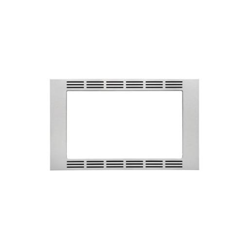 PANASONIC CONSUMER NNTK722SS 27 SS Trim Kit 1.6cuft Microw 27  High-end Stainless Steel Trim Kit look that fits most Panasonic 1.6cuft Stainless Steel Microwaves that provides a custom built look.  Easy installation, all parts included