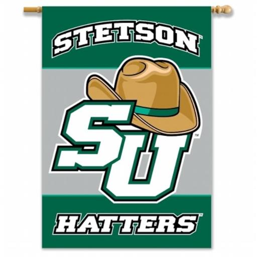 BSI PRODUCTS 96088 2-Sided 28 in. X 40 in. Banner with Pole Sleeve - Stetson BWVTVRKAO9SALGMT