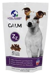 Vital Planet - Calm Treats For All Dogs Chicken Flavored - 45 Soft Chews