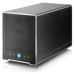 Akitio tbqm-tiaa-aktu 4bay, 2.5in external storage enclosure. features 2xthunderbolt2 ports, software