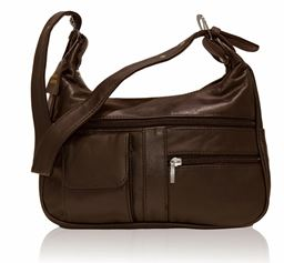 AFONiE Soft Genuine Leather Shoulder Bag