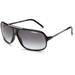 01e190b76464 Carrera Cool Navigator Sunglasses,Black And White Frame/Grey Gradient Lens,one  size