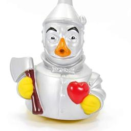 CelebriDucks Tin Woodsman Wizard of Oz Rubber Duck Bath Toys Hermetically Sealed and Mold Free