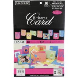 COLORBOK Craft A Card - 18 Permium Card Projects