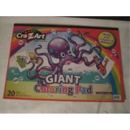 Giant Coloring Pad (1 pack)