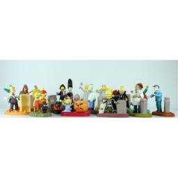 The Simpsons Spooky Light Ups Set of 15 Burger King Figures Individually Bagged