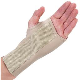 Bilt-Rite Mastex Health 7 Inch Right Wrist Splint, Beige, Small