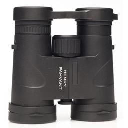 Henry Pahvant 8x42 Birding Binoculars HD Waterproof - Perfect Bird Watching or Hunting Ultra Clear Focus Brilliant Color and Wide View Optics