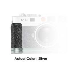 Leica M82 Handgrip Silver with Vulkanit Leather