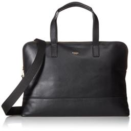 Knomo Luggage Women's Reeves Briefcase Black One Size