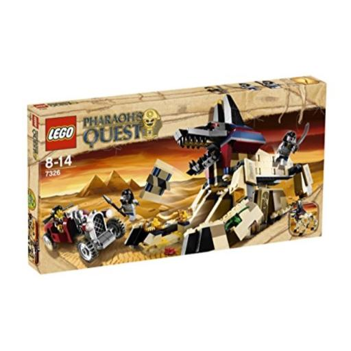 LEGO Pharaoh's Quest 7326: Rise of The Sphinx LEGO Pharaoh's Quest 7326: Rise of the Sphinx*Assorted