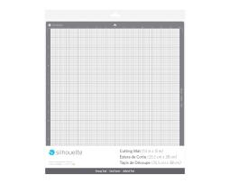 """Silhouette America Cameo Plus Strong Tack Adhesive Cutting Mat for Cardstock, Chipboard, Craft Foam and More - 15""""x15"""""""