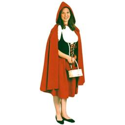 Alexanders Costumes Women's Deluxe Red Riding Hood, Medium