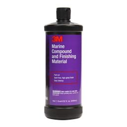 3M 06044 32 Fluid Ounce Marine Compound and Finishing Material