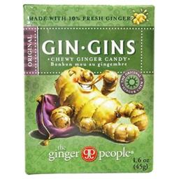 Ginger People Chewy Organic Travel, 1.6 oz