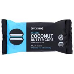 Eating Evolved Dark Chocolate Coconut Butter Cups Classic, 1.5 oz