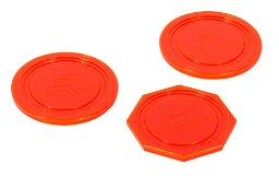 EastPoint Sports Hover Hockey Pucks, red (1-1-68230-PDQ)