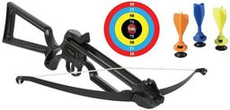 Crosman  Crosman Bristol Jr. (Black)Toy Crossbow - Includes Six Suction Cup Safety Darts And One Target Face ABT100