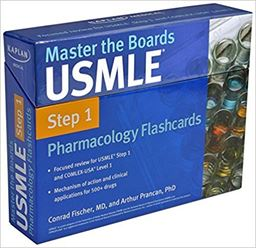Kaplan Master the Boards USMLE Step 1 Pharmacology flashcards