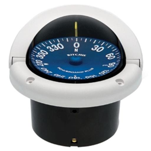 E.S. Ritchie SS-1002W Ritchie SS-1002W SuperSport Compass - Flush Mount - White