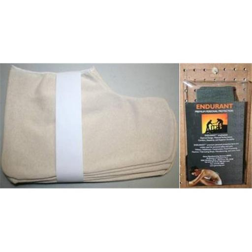 Gems Manufacturing Systems 462010511 Universal Disposable Knit Shoe Cover, Natural - 48 Pair per Box