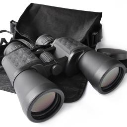 Wide Angle 10x50mm Zoom Binoculars Telescope Waterproof Day Vision Travel Outdoor with Bag