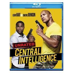 Central intelligence (blu-ray/digital hd/ultraviolet/2016/unrated) BR576541